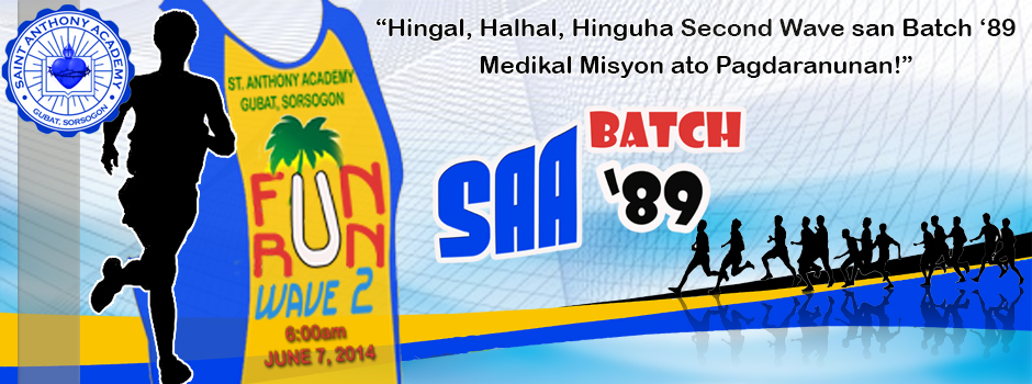 SAA Batch '89 Fun Run